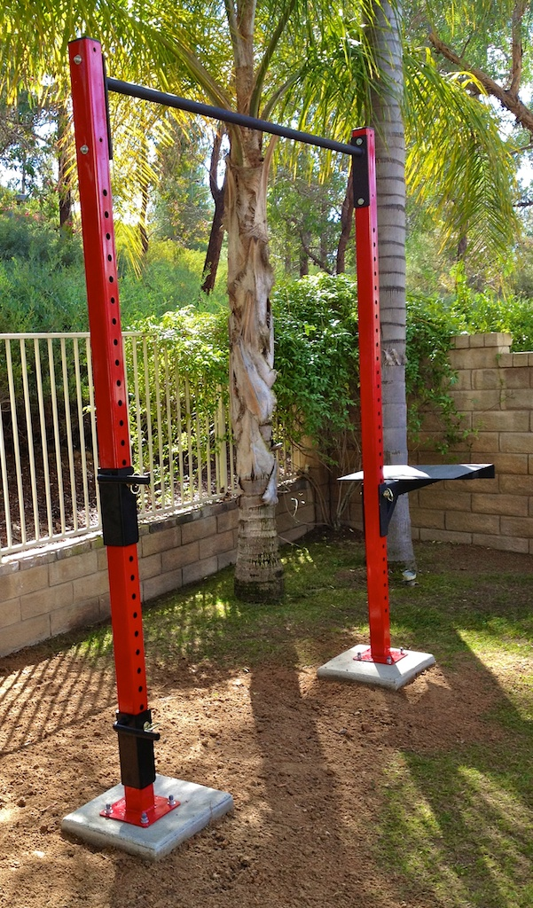 berets founder ron jones uses this crosscore rack in his own backyard