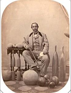 Aaron Molineaux Hewlett Curator & Instructor Harvard Gymnasium (1859-1871)