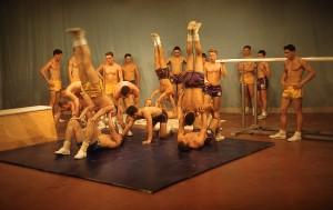 LaSierra High P.E. Program acrobatic demo on The Tonight Show, Circa 1962